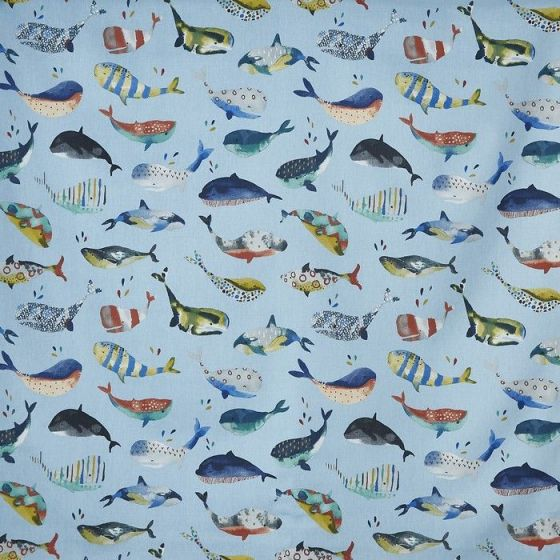 Whale Watching 5036 In Antique 106 By Prestigious Textiles
