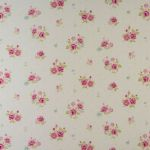 Petite Fleur Candy Pink 1.5 Mtr Roll End