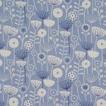 Bergen in Blue by Fryetts Fabrics