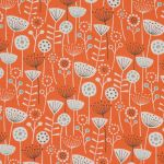 Bergen in Burnt Orange by Fryetts Fabrics