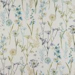 Wild Flower in Teal by Fryetts Fabrics