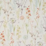 Wild Flower in Terracotta by Fryetts Fabrics