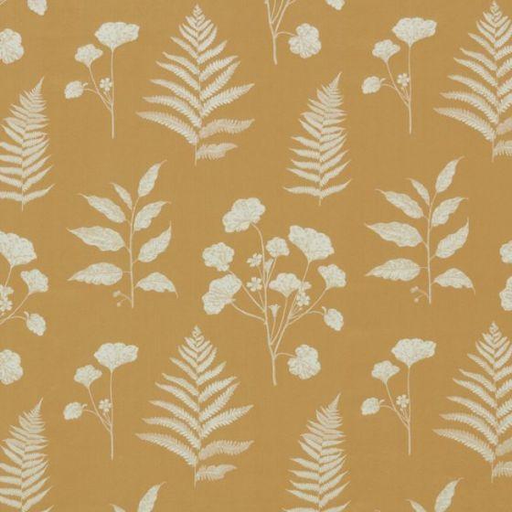 Amaranth In Ochre By Ashley Wilde Curtain Fabric Store